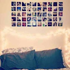 Decorated pictures above your bed