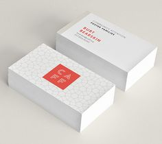 CAFF business cards