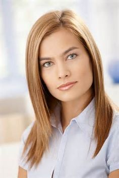 Long Layered Bob Hairstyles for Round Faces