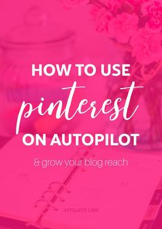 So you want to grow your blog & get more email subscribers but you're too busy to pin all day long? No worries chick, Tailwind is here to help. Actually, here to save your life!  | Use Tailwind to grow your Pinterest & grow your blog on autopilot. Get 100 free pins by using my [affiliate] link & learn what Tailwind can do for your blog today. The proof are in the results. I grew my reach to over 300k per month using Tailwind only! Grow your blog, grow your Pinterest, Pinterest marketing /AF…