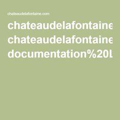 chateaudelafontaine.com documentation%20La%20Fontaine.pdf