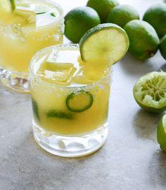 Mango Jalapeno Margaritas~T~ Love this twist on one of my favorite drinks.