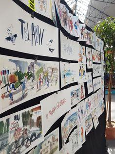 Trip to Bretagny - Part 1 - Festival des Carnets de Voyage | Urban Sketchers