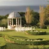 Tregenna Castle, St Ives. A beautiful venue, high up with some lovely views, and set it fab grounds.