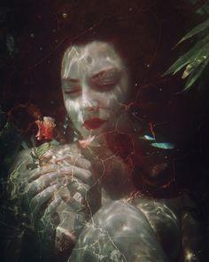 """""""L'Effleurement"""" —  Photographer/Model: Natalia Kovachevski @nataliakovachevski"""