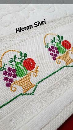 Yağmur Damlası's #567 media analytics. Cross Stitching, Cross Stitch Embroidery, Cross Stitch Patterns, Baby Knitting Patterns, Crochet Patterns, Moss Stitch, Diy Origami, Canvas Designs, Arts And Crafts
