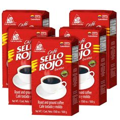 Sello Rojo Roast and Ground Coffee * You can get additional details at the image link.