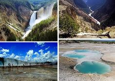 Yellowstone National Park - maybe one day far from now when we can retire hopefully we can rent an RV and travel the states and make this one of our stops!