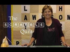 ▶ The Scrabble Quilt Tutorial - YouTube