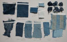 workshop Jeans repair/ Sashiko stitching