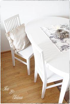 Iloa Ja Unelmaa: huhtikuu 2013 Chair, Furniture, Home Decor, Decoration Home, Room Decor, Home Furnishings, Stool, Home Interior Design, Chairs
