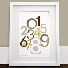 Olli & Lime Charlie Collection Number Wall Art and other furniture & decor products. Alphabet Wall Art, Abc Poster, Nursery Accessories, Diy Artwork, Stylish Home Decor, Kids Room Design, Baby Art, Nursery Inspiration, Gifts For New Moms