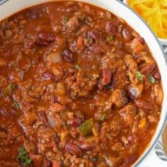 Best Chili Recipe, Chili Recipes, Soup Recipes, Salad Recipes, Cooking Recipes, Stove Top Chili Recipe, Homemade Chilli Recipe, Dinner Recipes, Vegetarian Food