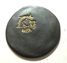 """Polymer Clay Tutorial: Embossing with Powders Have you ever taken the time to emboss something on your clay? I love to emboss patterns, stamps, and whatever kind of texture """"catches"""" me at that moment. I love the crisp, clean, almost effortless and yet profession"""