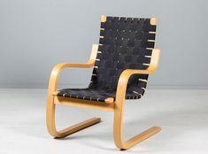 Alvar Aalto, 406, Artek. Outdoor Chairs, Outdoor Furniture, Outdoor Decor, Alvar Aalto, Rocking Chair, Art History, September, Auction, Home And Garden