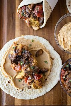 Spiced Moroccan Chicken Wrap | The Cozy Apron