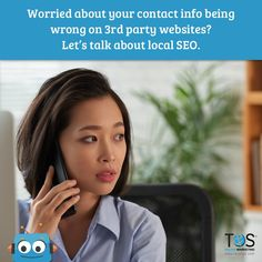 There are so many online directories, and they all feed into Google. With proper local SEO, you can have peace of mind that your info is showing up correctly. #onlinemarketing #digitalmarketing #marketingonline #webdesign Online Marketing Services, Social Media Services, Seo Services, Local Seo, Let Them Talk, Peace, Google, Room