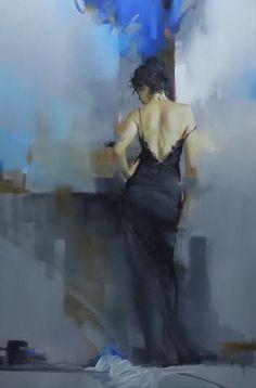 Midnightfalls - 36x24 - Richard S. Johnson - Addison Art Group