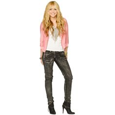 """Miley Cyrus Disney Channel """"Hannah Montana"""" Season 4 Promo Pictures 