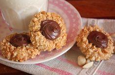 Cherry on a Cake: PEANUT THUMBPRINT NUTELLA COOKIES