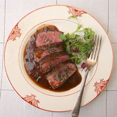 Filet mignon sauce Bordelaise