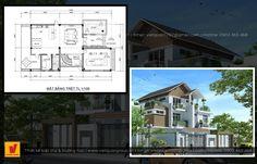 Dịch vụ thiết kế biệt thự nhà phố Floor Plans, Floor Plan Drawing, House Floor Plans