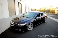 Acura TL - This is my favorite body style of the TL. This one has a perfect stance. | See more about Acura Tl, Style and Dream Cars.
