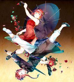 Post with 1297 votes and 26951 views. Tagged with art, anime, fantasy; Shared by gahidus. Art by Soraneko Hino Kamui Gintama, Shingeki No Bahamut, Space Pirate, Okikagu, Bendy And The Ink Machine, Anime Fantasy, Find Picture, Anime Couples, Haikyuu