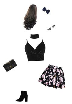 """""""first date be like..."""" by cookiequeen8293 on Polyvore featuring Boohoo, MANGO, Chanel and Marc Jacobs"""