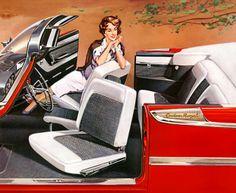 1959 Dodge Custom Royal Convertible.