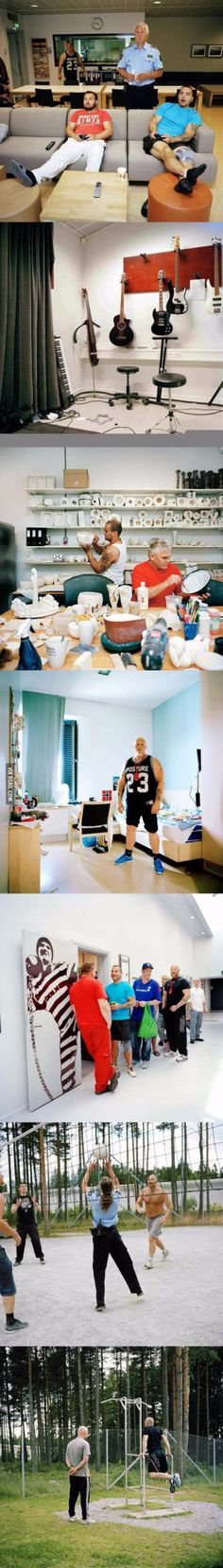 Prison in Norway Bizarre Pictures, Best Funny Pictures, Cool Pictures, Faith In Humanity Restored, 9gag Funny, Wtf Fun Facts, Prison, Norway, Cool Stuff
