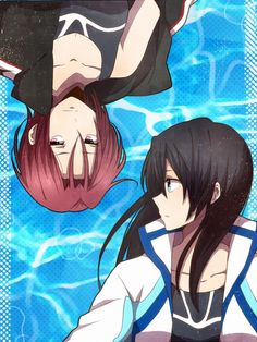 Image shared by アメリア★. Find images and videos about cool, anime and swimming on We Heart It - the app to get lost in what you love. Otaku, Makoto, Fanart, Splash Free, Free Eternal Summer, Free Iwatobi Swim Club, ユーリ!!! On Ice, Gender Swap, Bubbline
