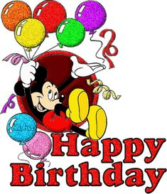 catoon birthday wishes animated cards for children