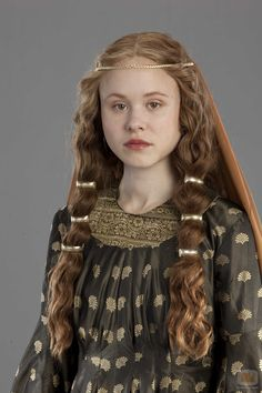 Alison Pill as Queen Maud in Pillars of the Earth