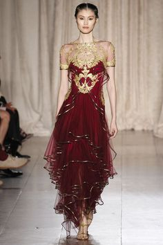 Marchesa Spring 2013 Ready-to-Wear Fashion Show - Sui He