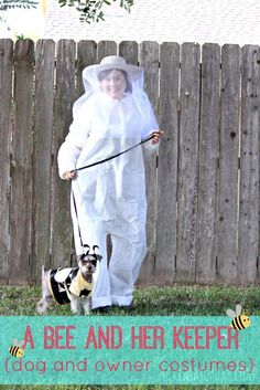 A Bee and Her Keeper - Me and 80+ blog buddies got together to bring you 80+ DIY Halloween costumes, including my Bee...