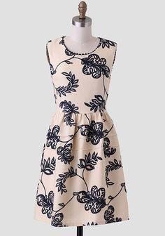 Kona Sands Scallop Detail Dress // Shop Ruche
