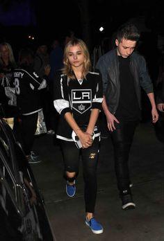 L.A, Brooklyn Beckham and Chloe Moretz