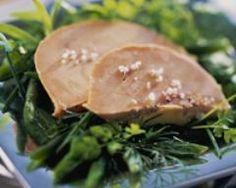 recette de foie gras de canard au gros sel
