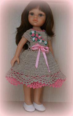 Платье для Паолочки. / Одежда для кукол / Шопик. Продать купить куклу / Бэйбики. Куклы фото. Одежда для кукол