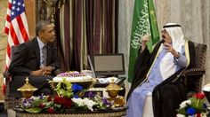 Obama meets Saudi King Abdullah to smooth ties