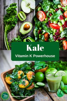 Vitamin K is essential for healthy bones, blood, and skin--and kale is an amazing source of this important nutrient!