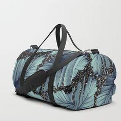 Banana Leaves Glitter Glam Duffle Bag by anitabellajantz Banana Leaves, Tropical Decor, Gym Bag, Glitter, Duffle Bags, Stuff To Buy, Backpacks, Art, Art Background