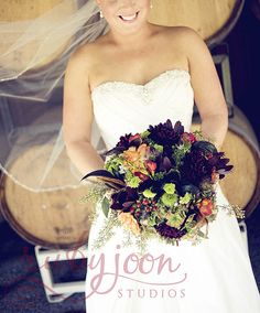 gorgeous textural winery bouquet
