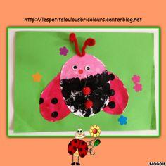 COCCINELLE bricolage enfant