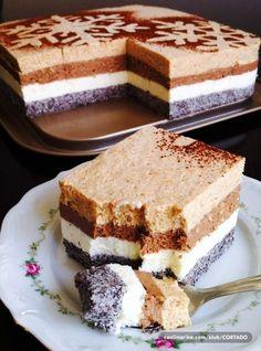 Medjimurski mus — Coolinarika Torte Cake, Cake Bars, Baking Recipes, Cake Recipes, Dessert Recipes, Appetizer Recipes, Cake Cookies, Cupcake Cakes, Cupcakes