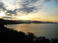 Port Moresby dawn... it's all down hill till dusk