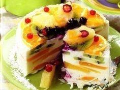 "Cottage cheese cake ""Magic"""