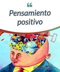"""Pensamiento positivo Una simple #frase puede hacer que tu vida sea más """"llevadera"""". Si estas frases que pronunciamos son #positivas nos ayudaran a sentirnos mejor . Si además enviamos continuamente mensajes positivos a nuestra mente el #bienestar será duradero. #Psicología"""