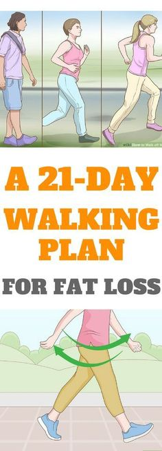 A 21-Day Walking Plan For Fat Loss